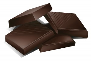 illustration of a chocs on a white background